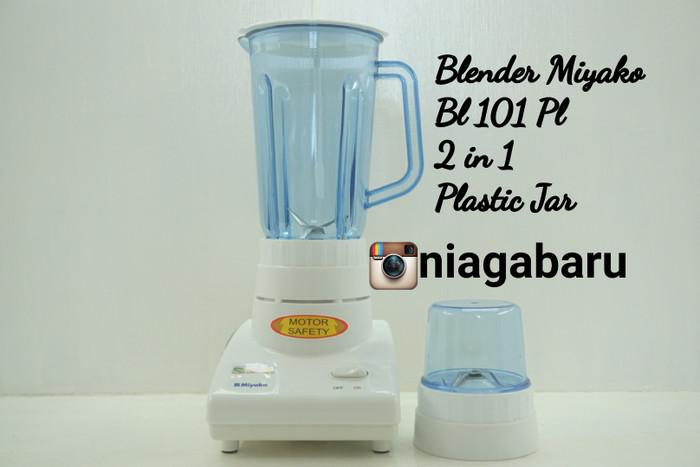 Jual Blender Miyako Bl 101 Pl 2 In 1 Plastic Jar Kota Bogor