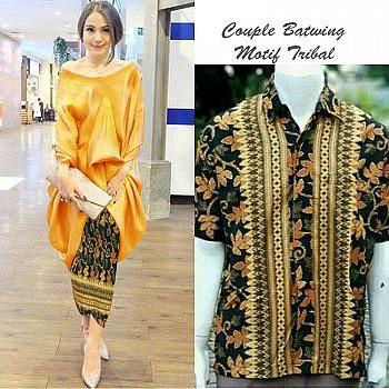 Setelan Wanita Muslim - Couple Kebaya Batik Modern Mano - Dzikri ... 7b29517686