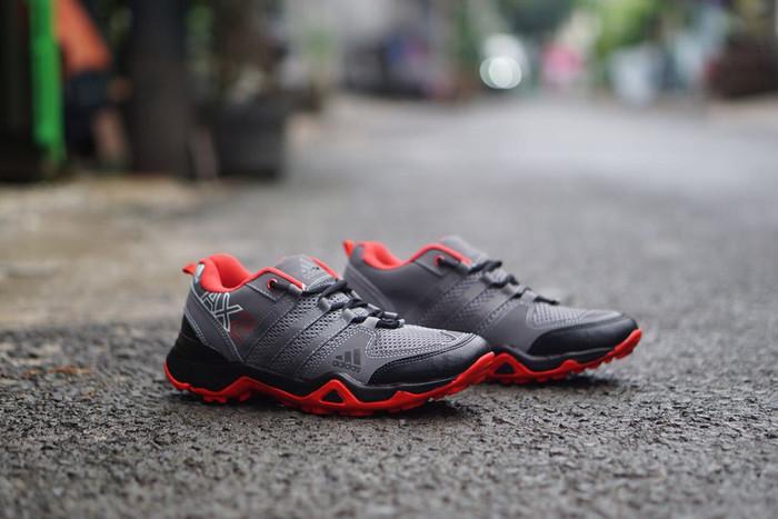 harga Sepatu adidas ax2 trekking / adventure outdoor gunung  pria olahraga Tokopedia.com