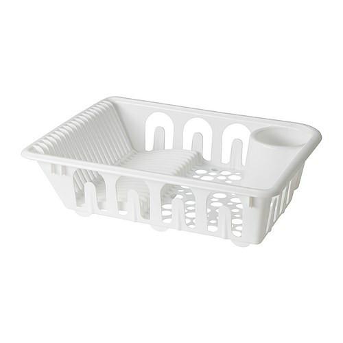 Ikea FLUNDRA Pengering piring, putih