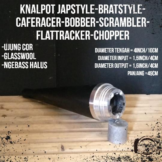 harga Knalpot japstyle kanlpot custom knalpot triumphknalpot chopper Tokopedia.com