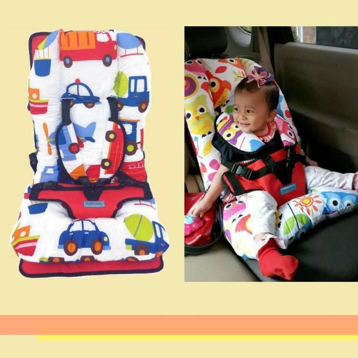 Jual Baby Car Seat Full Cushion Motif Transportasi Biru Kota Surabaya Buku Bantal Surabaya Tokopedia