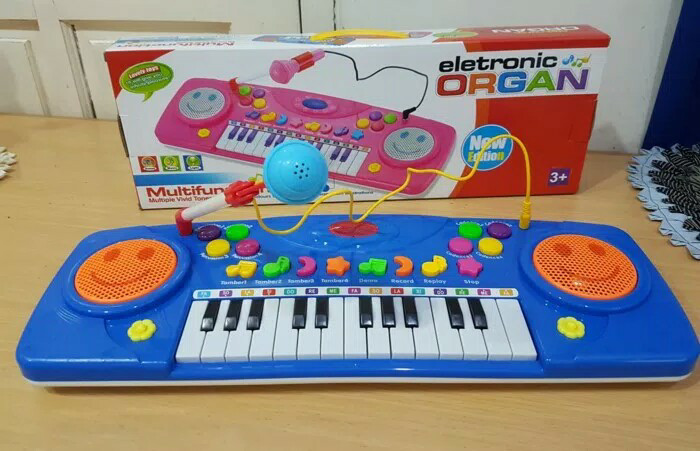 harga Electronic organ - mainan piano anak edukatif - keyboard musik edukasi Tokopedia.com