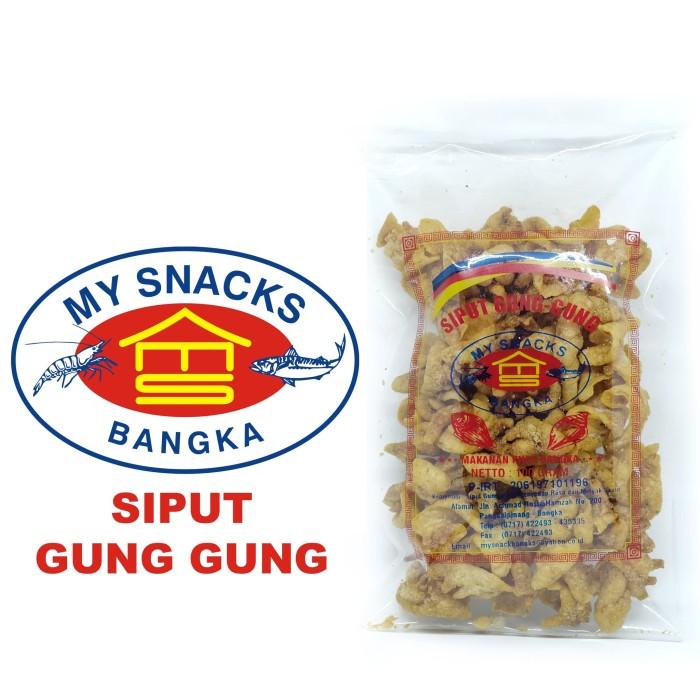 harga Siput gong gong 100 gram my snacks bangka Tokopedia.com