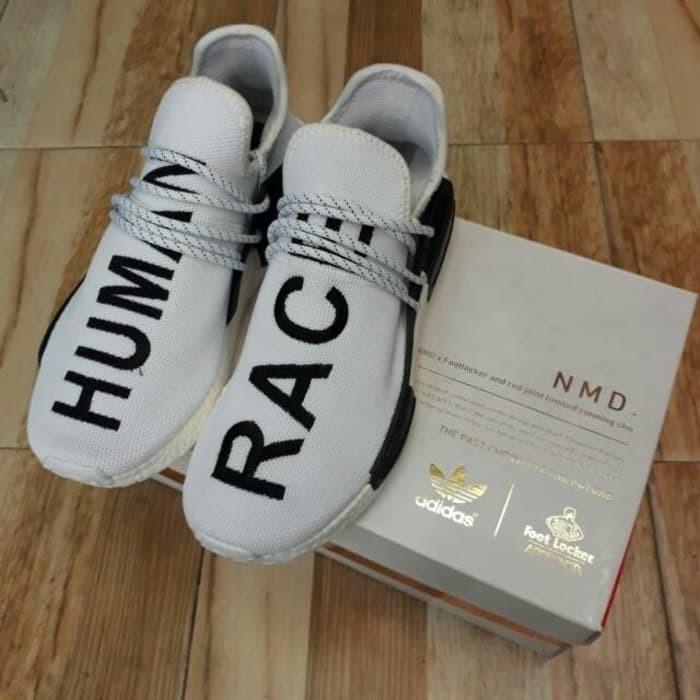 d11161e94062e Sepatu Adidas NMD Human Race Premium Import High Quality Putih White -  Putih