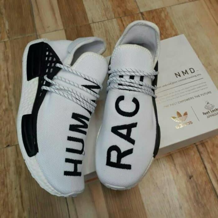 f5849ece6526e Jual Sepatu Adidas NMD Human Race Premium Import High Quality Putih ...