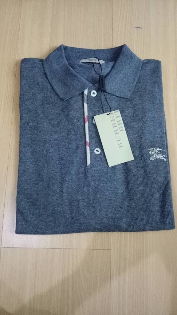 Jual MURAH KAOS PRIA POLO SHIRT BURBERRY MADE IN TURKEY JUMBO SIZE ... f92d5d78e9