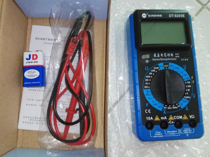 harga Multitester digital avometer digital produk original Tokopedia.com
