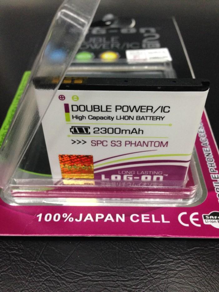 harga Baterai spc s3 phantom 2300mah double power log on Tokopedia.com