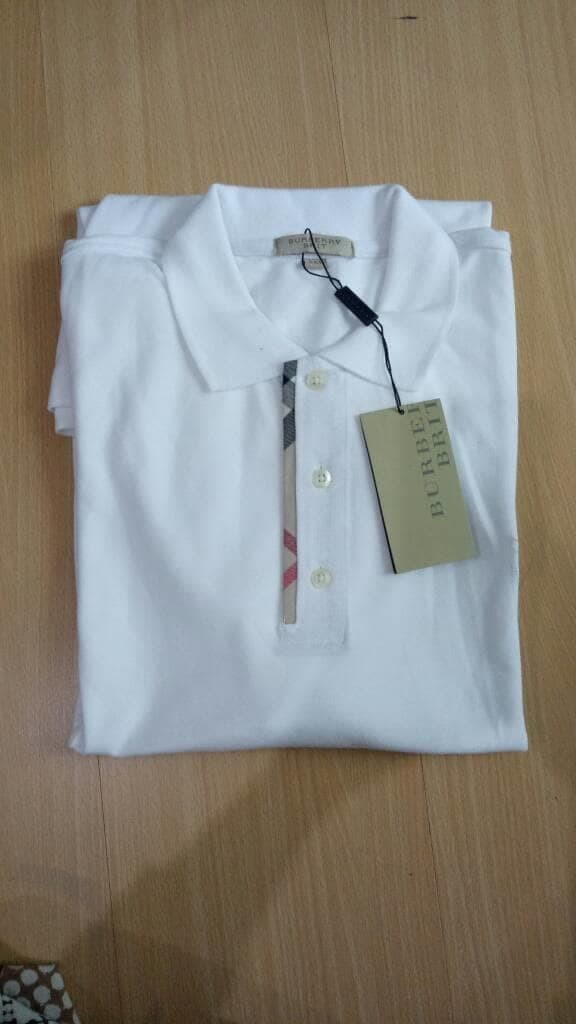 Jual KAOS PRIA MURAH POLO SHIRT BURBERRY MADE IN TURKEY JUMBO SIZE ... 5329be4c06