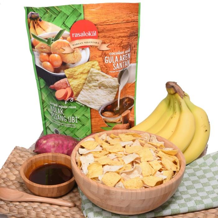 harga Rasa lokal kolak pisang ubi dengan cocolan asli gula aren santan Tokopedia.com