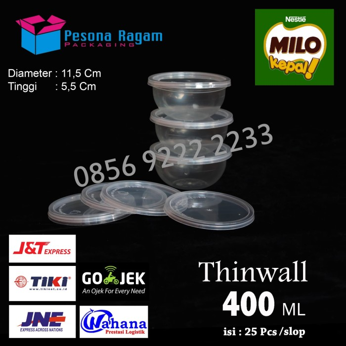 Thinwall 400ml microwave oven -food grade 5