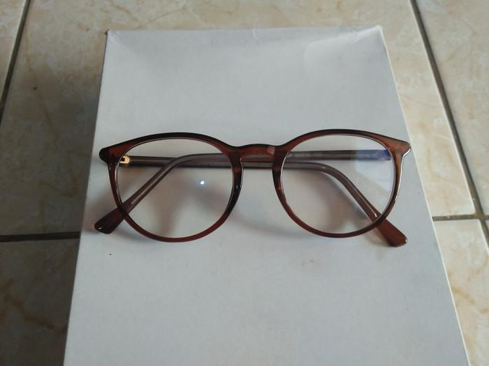 harga Kacamata anti radiasi handphone dan komputer oval coklat trendy ns150  Tokopedia.com 92aa049103