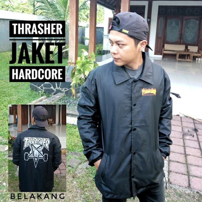 harga Jaket trasher hardcore premium / jaket death metal / jaket murah pria Tokopedia.com