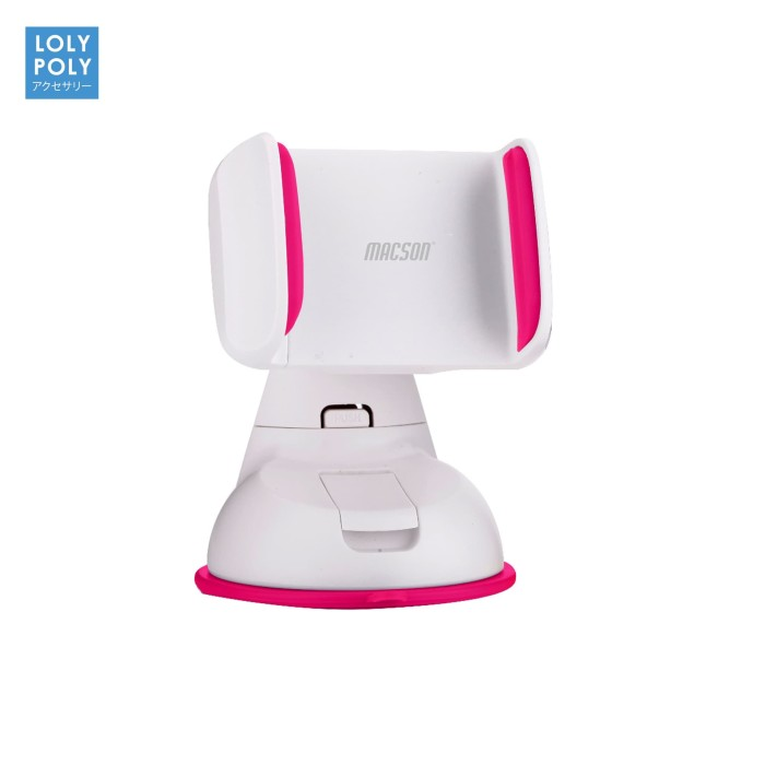 mobile phone holder 10158 pink - abu-abu muda
