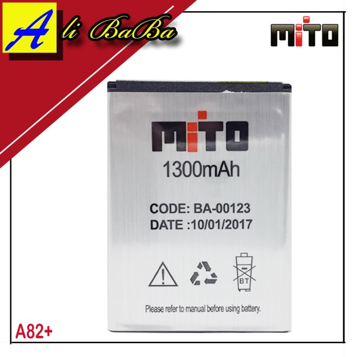 harga Baterai handphone mito a82 plus ba-00123 batu hp mito a82 plus battery Tokopedia.com