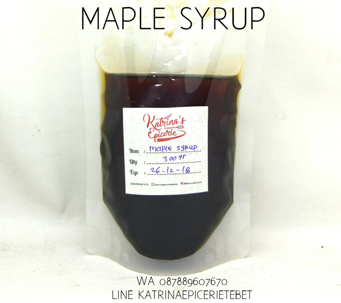 harga Maple syrup - sirup Tokopedia.com