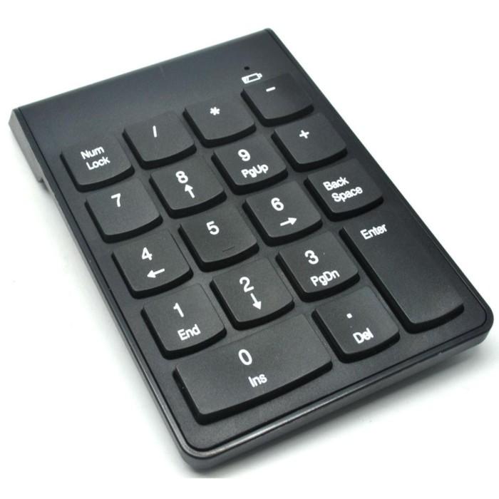 harga Keypad numeric wireless 2.4ghz 10 meter hitam Tokopedia.com