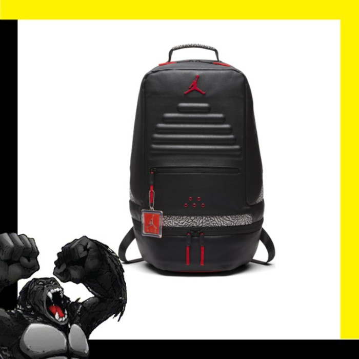 Jual Air Jordan Retro 3 Backpack - Badass Monkey Indonesia  8bc67790c7b54