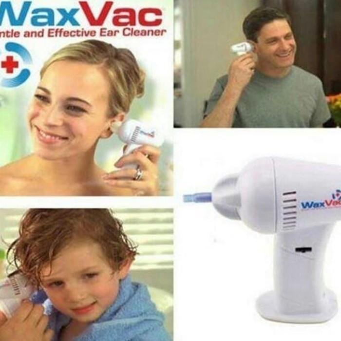 Pembersih telinga electric ear wax vacuum vac wax removal ...