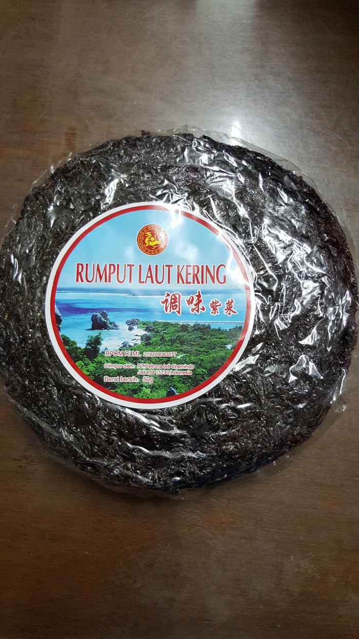 Jual Rumput Laut Kering CLJ 50gr Kota Surabaya Fafashop88