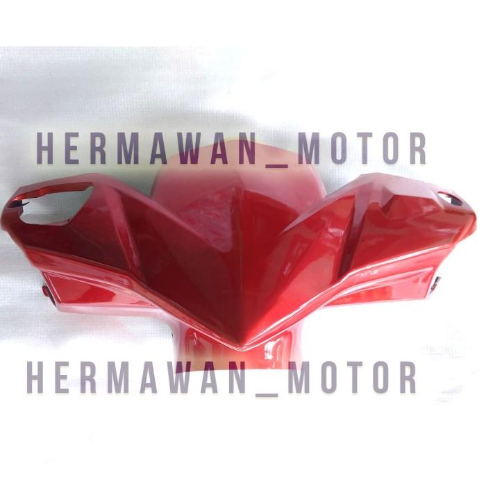 Batok depan Honda Vario 110 Tehno warna merah