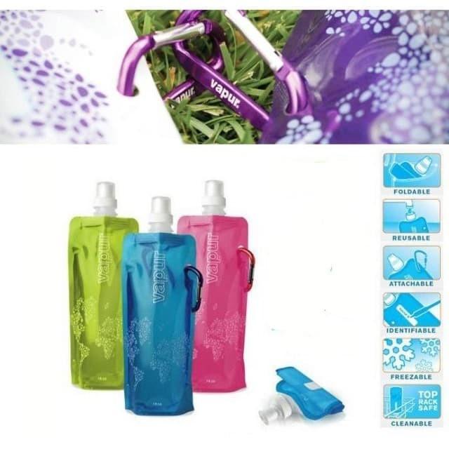TGB Botol Air Minum Lipat Portable Vapour Vapur Murah