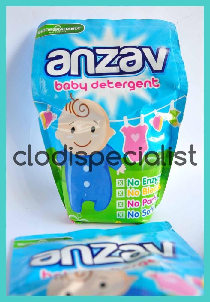 Anzav deterjen clodi baju bayi detergent sabun cuci popok kain