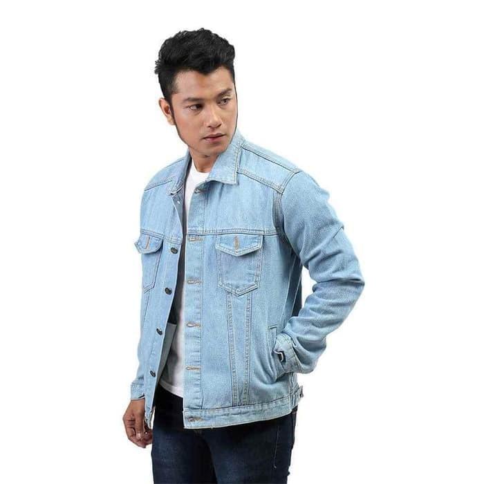 9 Shop Jaket Jeans Denim Big Size Wanita Warna Kualitas Premium ... f81ffeb43e