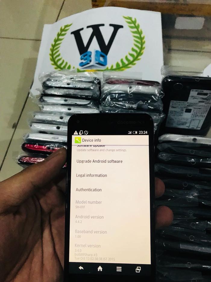 Jual Sharp Aqous Zeta SH01F 4G Seken SH 01F - W3d Shop   Tokopedia