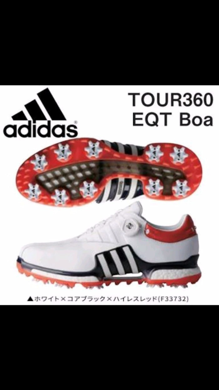 lowest price eca8f 2ad12 Jual promo Adidas Tour 360 EQT Boa Original Free Golf Balls pria smart atl  - putri saudah | Tokopedia