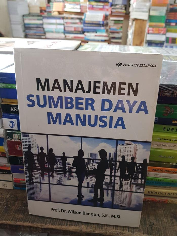 harga Manajemen sumber daya manusia by prof wilson bangun Tokopedia.com