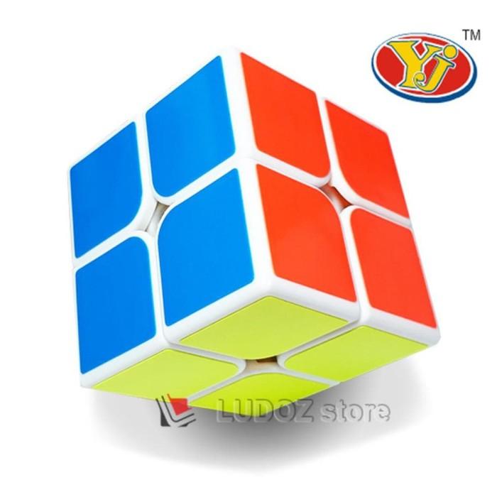 ... Rubik's 3x3x3 Licin Lengkap. Source · Rubik 2x2 White base ORI Yong Jun magic rubik cube 2x2x2 box (Tidak