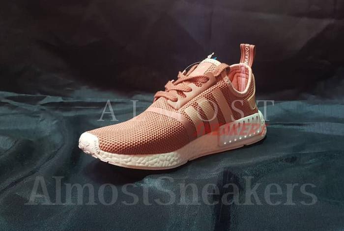0ee36710d Jual Adidas NMD R1 Raw Pink (W) - Merah Muda