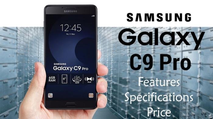 Samsung Galaxy C9 Pro | 64GB RAM 6GB | NEW-SEGEL-INTER-ORI 100%