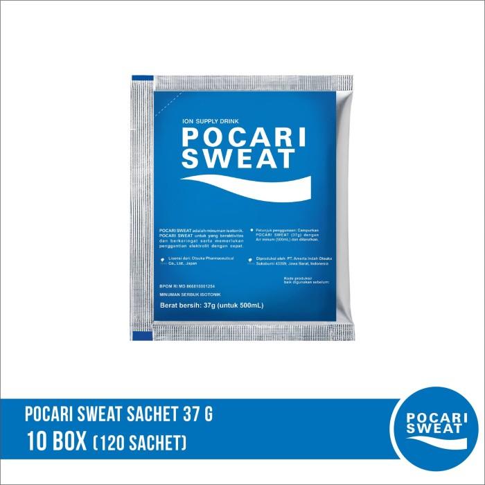 harga Pocari sweat sachet 37 gr 10 box isi 120 sachet Tokopedia.com