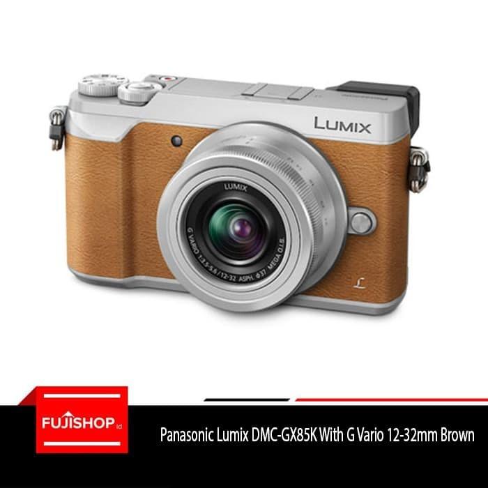 harga Panasonic lumix dmc-gx85k with g vario 12-32mm - brown Tokopedia.com