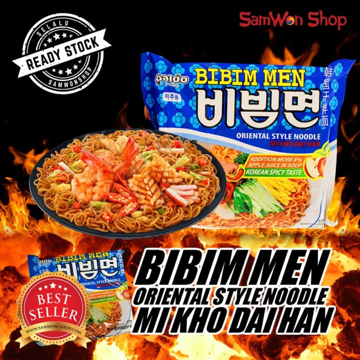 Paldo Bibim Men 1 Pack Isi 5 Pcs