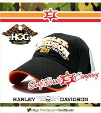 Jual Topi Baseball Pria Harley Davidson Thunder - SerifBordir ... 96f60d1a95