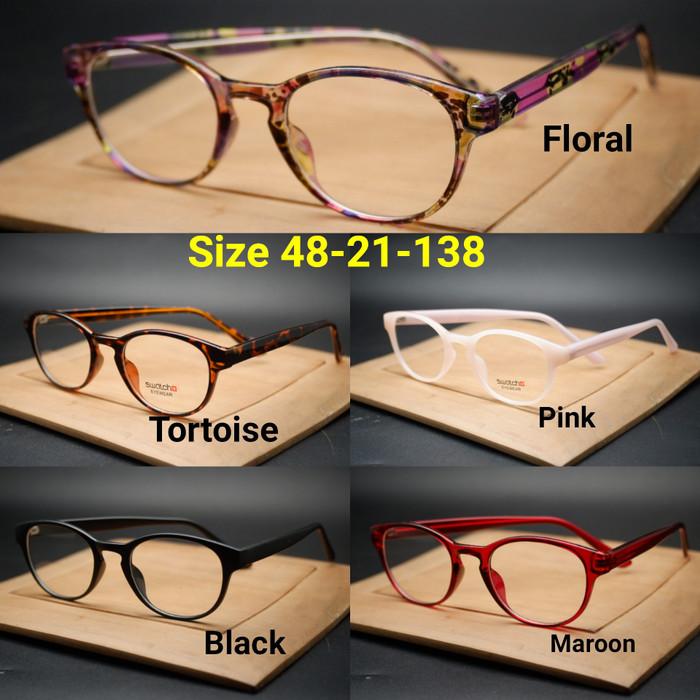 Frame kacamata frame minus kacamata swatch 537 black doff 0c0305ac32