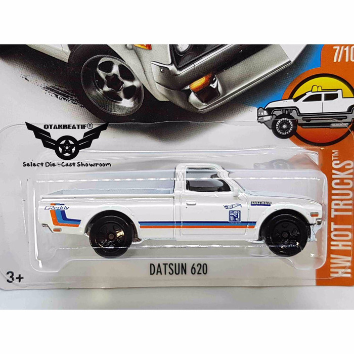 Jual Promo Hot Wheels Datsun 620 White Dki Jakarta Jack Team