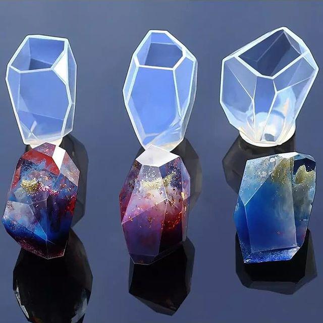 harga Cetakan resin galaxy stone bahan craft kerajinan tangan cetakan jelly Tokopedia.com