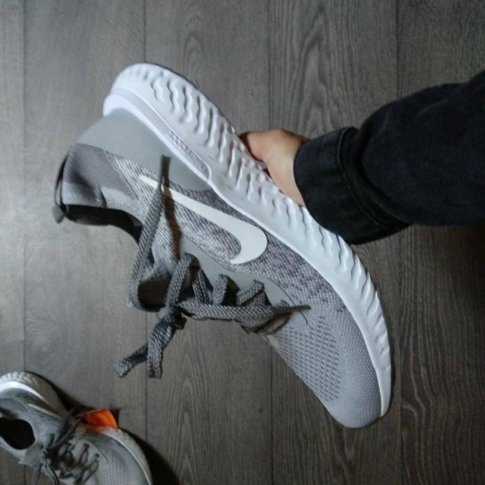 pretty nice a52cd 9a3ed Jual Sepatu Sport/Nike Lunar Epic React Flyknit Grey Premium High Quality -  Jakarta Utara - Sneakers BNIB Quality | Tokopedia