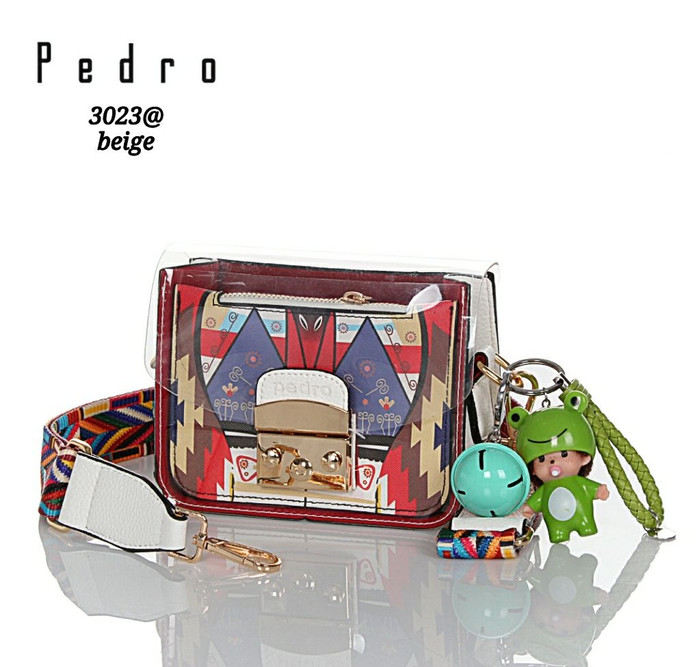 harga Tas transparent vs faux togo leather by pedro Tokopedia.com