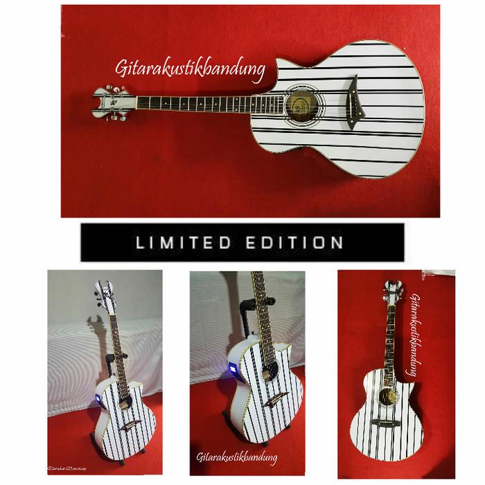 harga Gitar akustik bandung schecter elektrik berkualitas super limited yu Tokopedia.com