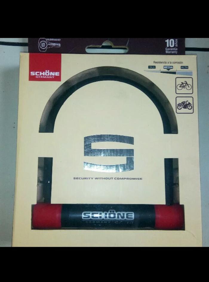 harga Schone germany sc-210 red gembok cakram motor & property lainnya Tokopedia.com