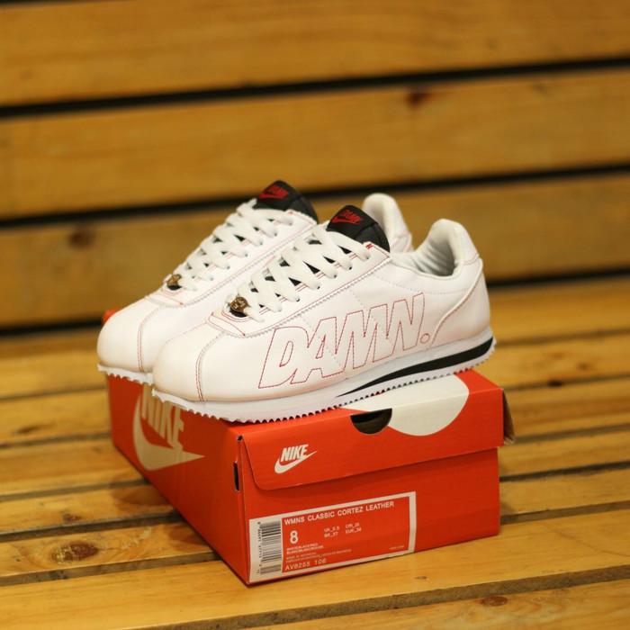 huge selection of 26522 d9714 Jual Nike Cortez Kenny 1 Kendrick Lamar DAMN White Gym Red Premium Mirror -  Kota Bandung - mainshoesoffcl | Tokopedia