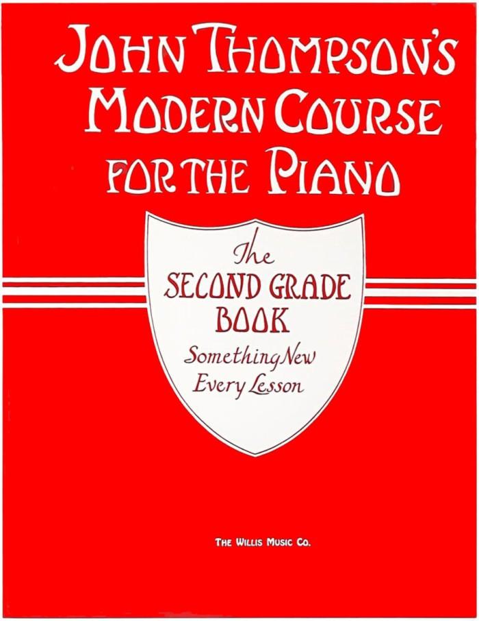 Buku Piano John Thompson's Modern Course - Second Grade