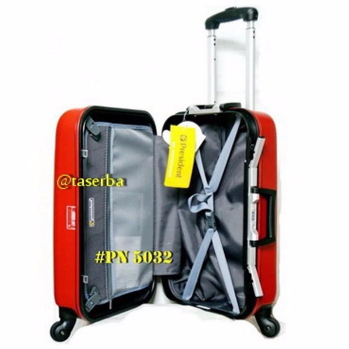 keren koper travel 20 inchi fiber hardcase merk president PN 5032 dis