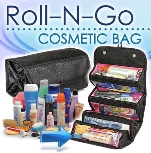 301 Roll N Go Cosmetic Bag / Tas Kosmetik organizer gantung make up - Merah